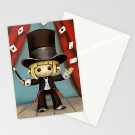 Magic Cards Stationery Cards