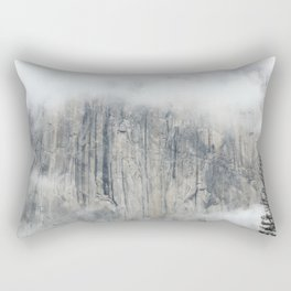Misty in the Park Rectangular Pillow