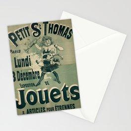 petit st thomas paris exposition de vintage Poster Stationery Cards