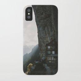 Mountain Cabin - Landscape Photography iPhone Case