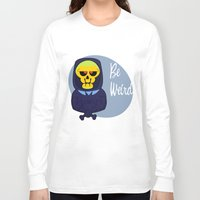 skeletor Long Sleeve T-shirts featuring Skeletor-MOTU- by Smurf74