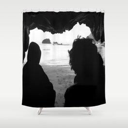 Sea Cave Fellowship Shower Curtain