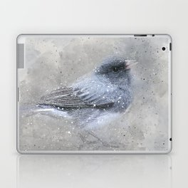 Dark Eyed Junco Bird Laptop & iPad Skin