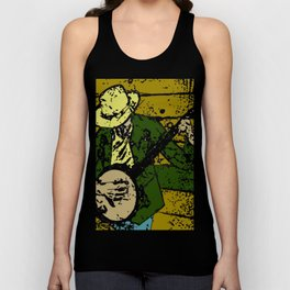 Banjo Man Unisex Tank Top