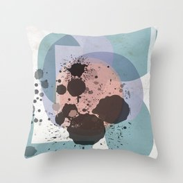 Dripstones II Throw Pillow