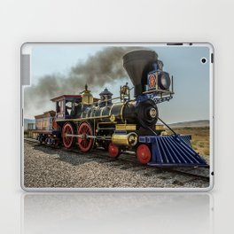 Central Pacific Railroad Jupiter at Golden Spike National Historic Site Utah Transcontinental Laptop & iPad Skin