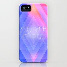 Infinite Self iPhone Case
