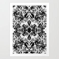 Ikat #5E Art Print