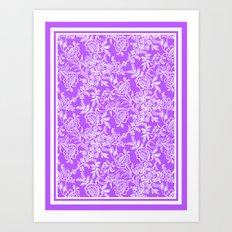 Radiant Orchid Tea Art Print