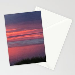 Dusk in the outer banks Stationery Cards