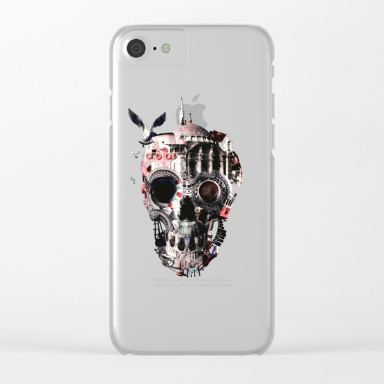 Istanbul Skull Clear iPhone Case