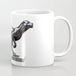 Black panther hematite Coffee Mug