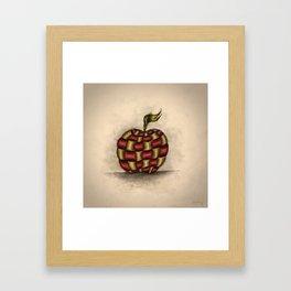 The Patchwork Apple Framed Art Print