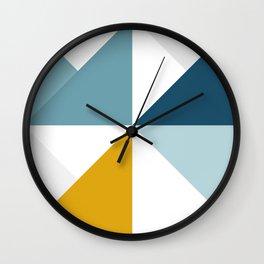 Modern Geometric 18/3 Wall Clock