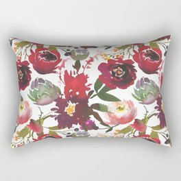 Boho Rojo Rectangular Pillow