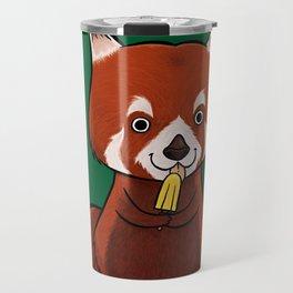 Red Panda Lolly Travel Mug