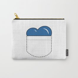 Close to my Heart, Pocket Love - Blue Carry-All Pouch