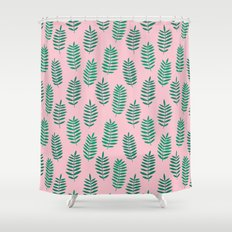 Pattern Project #42 / Ferns Shower Curtain
