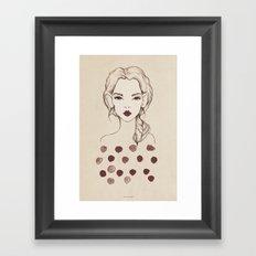 Marsala Framed Art Print