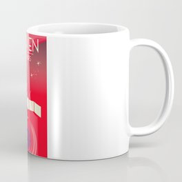 MAVEN - to Mars space art. Coffee Mug