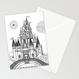 Mouse in Love at Midnight Stationery Cards