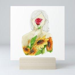 But I'm a sunflower Mini Art Print