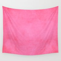 blush Wall Tapestries featuring Blush by M Studio