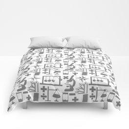 Science Pattern Comforters