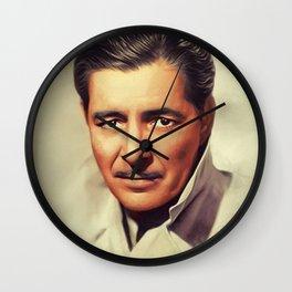 Ronald Colman, Vintage Actor Wall Clock
