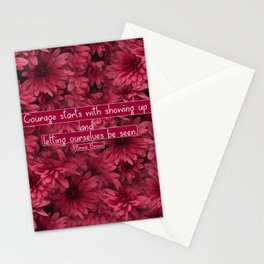 Let yourself be seen Stationery Cards