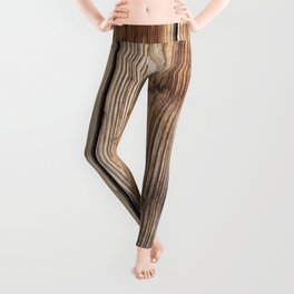 Wood pattern Leggings