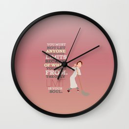 the only limits are your soul.. ratatouille.. linguine  Wall Clock