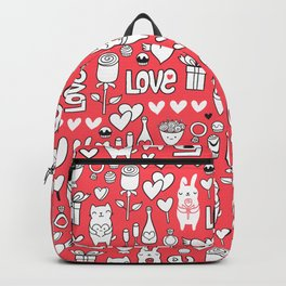 Happy Valentines Backpack