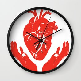 Valuable Heart - Colorful artwork Wall Clock