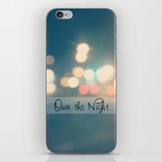 Own the Night iPhone & iPod Skin