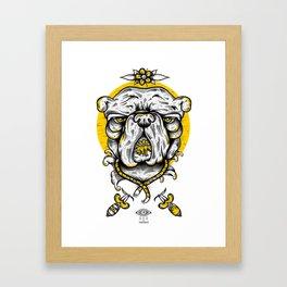 Bulldogs mood Framed Art Print