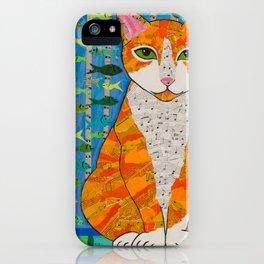 Marmalade Cat iPhone Case