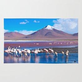 Laguna Colorada, Bolivia Rug