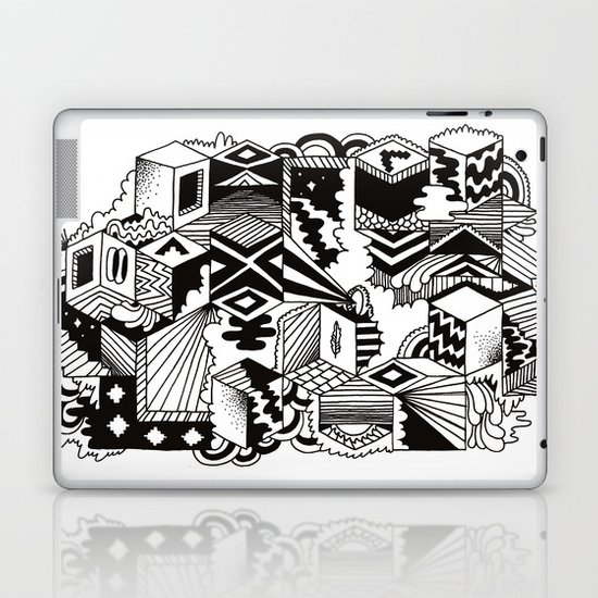 Cube-ular Laptop & iPad Skin