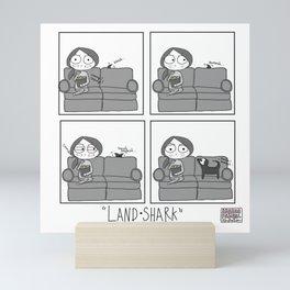 Land Shark Mini Art Print
