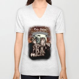 Rock 'N' Roll Circus Unisex V-Neck