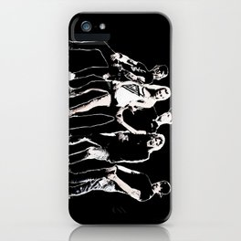 WARNER DRIVE - LIVE CURRENT WALL series - BLACK version iPhone Case
