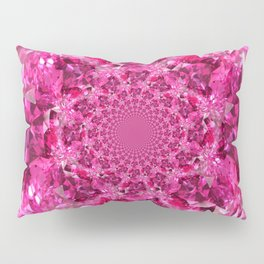 OCTOBER PINK SAPPHIRE FANTASY BIRTHSTONE GEM Pillow Sham