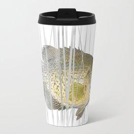 Black Crappie Fish Travel Mug
