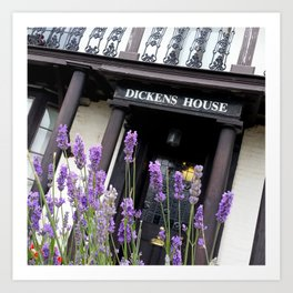Dicken's House, Broadstairs, England Art Print