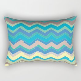 NY Pastel chevron Rectangular Pillow