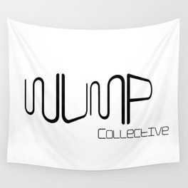 WUMP Collective Standard Logo Wall Tapestry