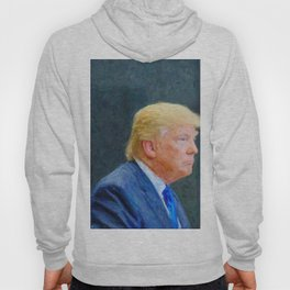 Portrait  of President Donald Trump Hoody