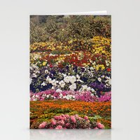 the neighbourhood Stationery Cards featuring Some neighbourhood called flower by Martin Carri
