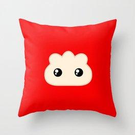 Pocket Pork Dumpling Throw Pillow